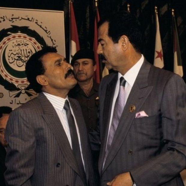 Saalax waxay aad isugu dhawaayeen Saddam Xuseen