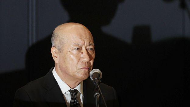 Tadashi Ishii, presidente de Dentsu