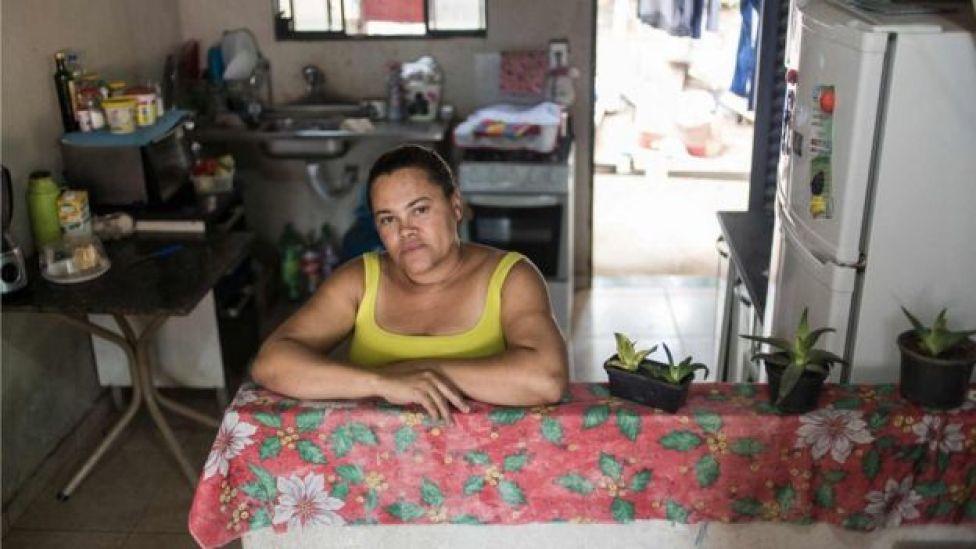 Adriana Silva, moradora da ocupação Dandara