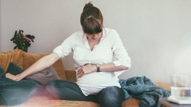 Mujer embarazada.