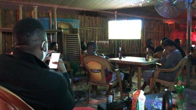 Football pub in Lagos