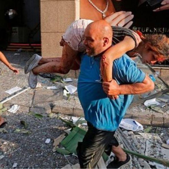 violente explosion à Beyrouth, au moins 50 morts et plus de 2500 blessés