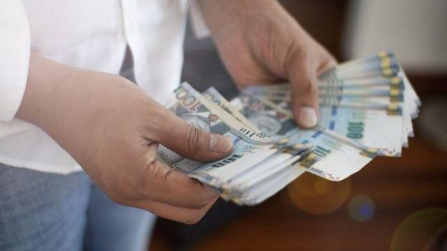 Notas de Nuevo Sol, a moeda peruana