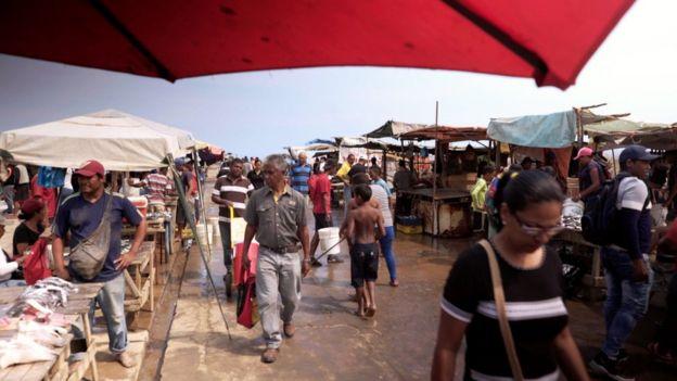 Los Cocos pazarı