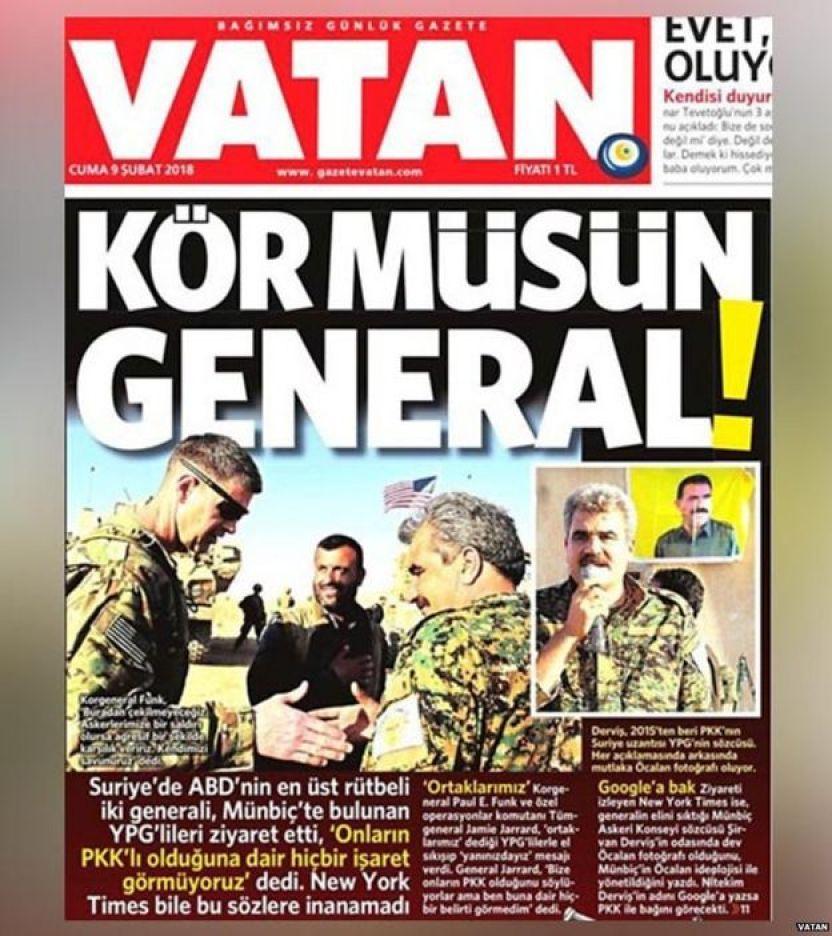 तुर्की, अमरीका, कु्र्द