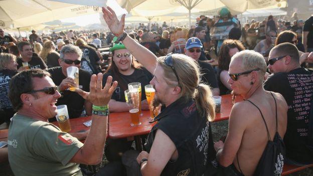 Wacken fans in 2014