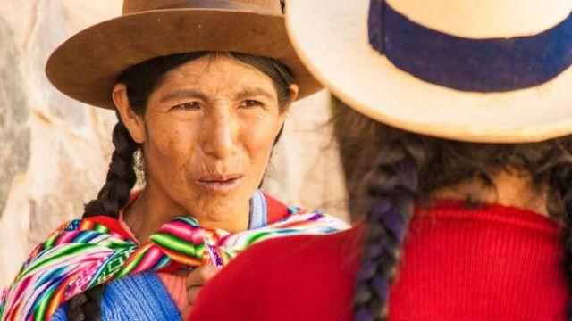 Dos mujeres quechua
