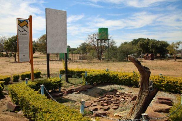 La sepultura de El Negro en Botswana