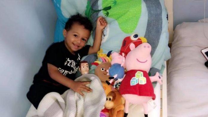 Kia Russell's son Kamari