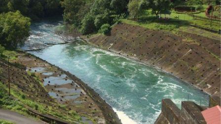The Salaulim dam