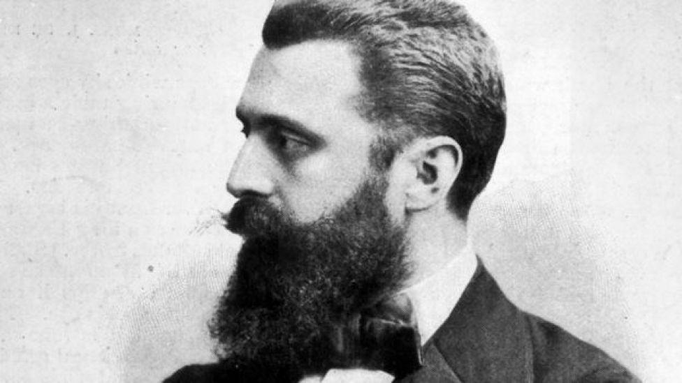 Theodor Herzl, fundador del sionismo político.