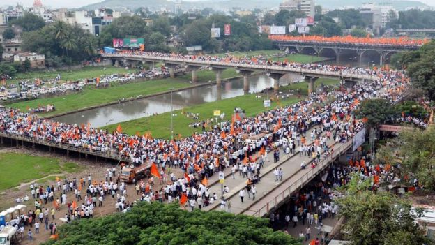 Maratha march in Pune