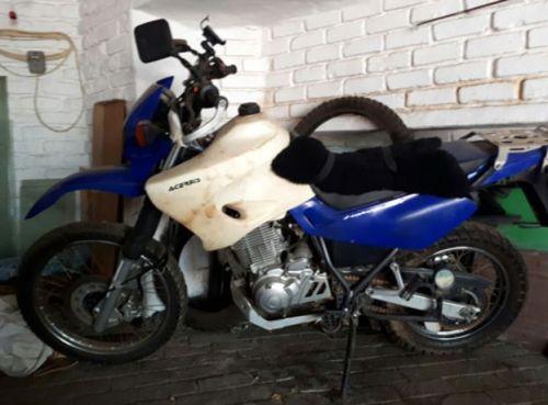 La moto de Stephen McGown (Foto: Stephen McGown)
