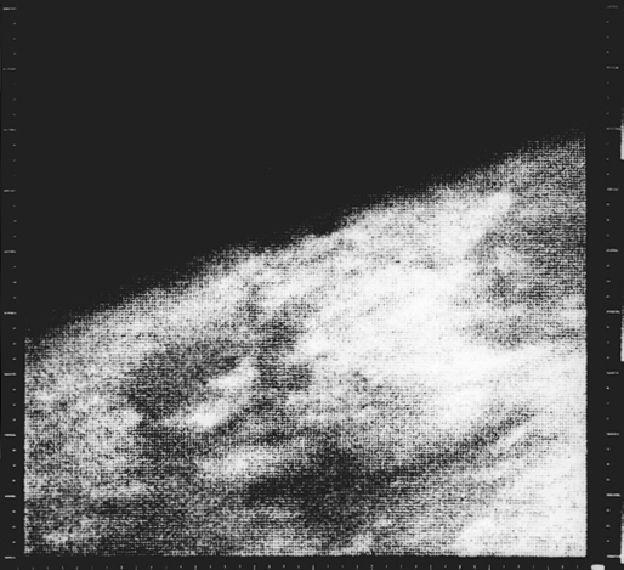 Mariner 4 immagine di Marte