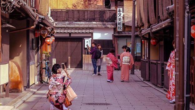 الزي التقليدي في اليابان