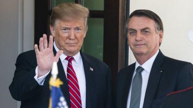 Trump e Bolsonaro