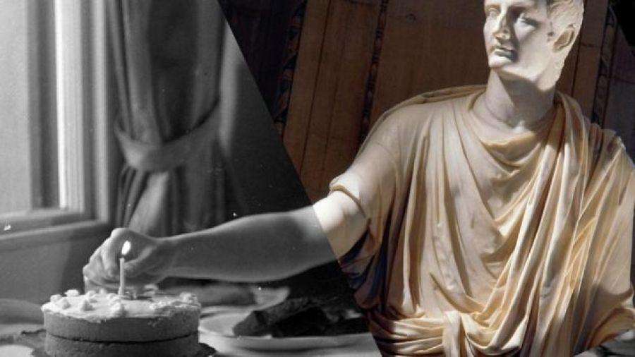 Imagen de una estatua del emperador Tiberio.