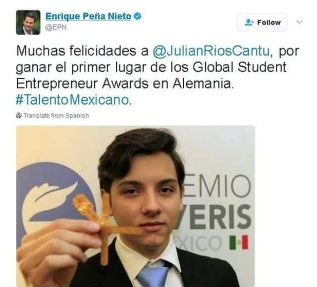 Tweet in Spanish