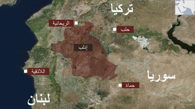 يعيش في محافظة ادلب حاليا مليونا شخص