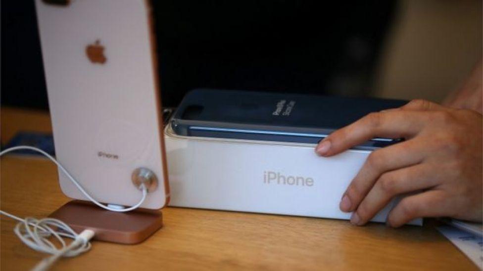 Lanzamiento del iPhone 8.
