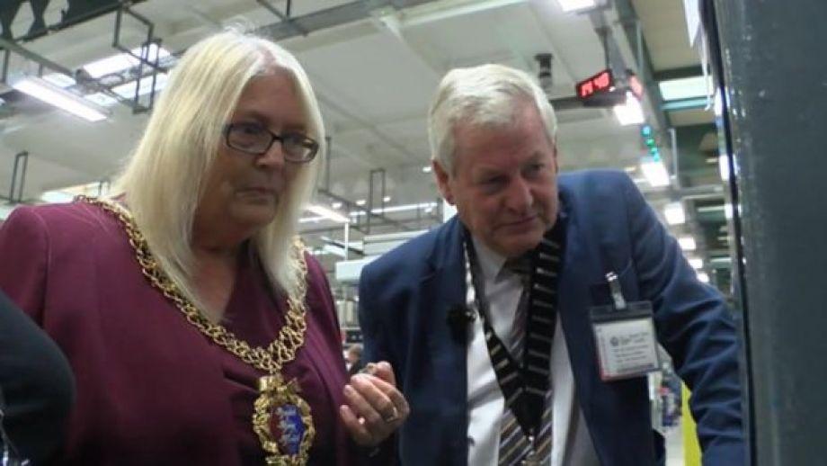 Mayors at Royal Mint