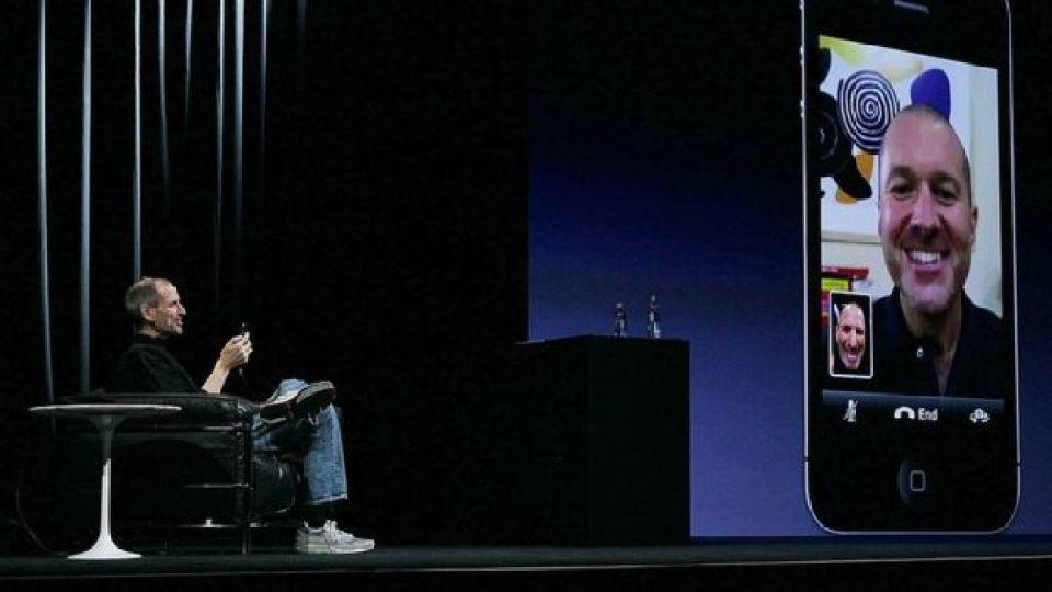 Steve Jobs presentó FaceTime en 2010.