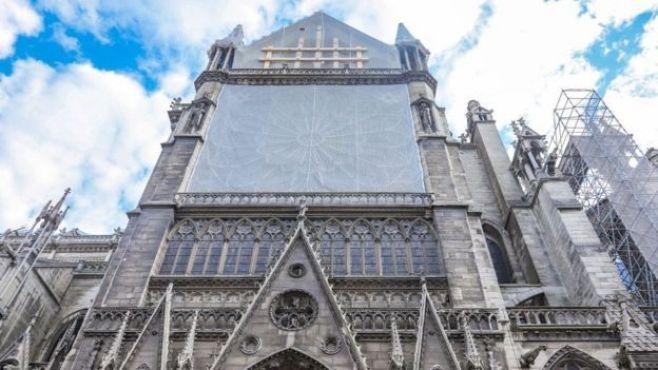 Photo de la cathédrale Notre-Dame en juin 2019.