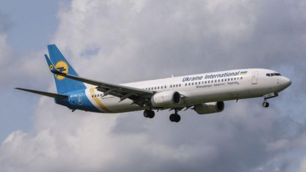 Avión de Ukraine International Airlines (foto genérica)