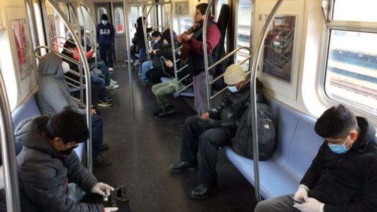 Metro 7 en Queens, Nueva York.
