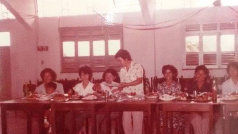 Imigrantes japoneses comendo no Amazonas