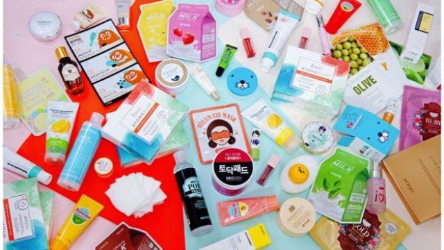 Produtos de beleza coreanos vendidos na Topshop