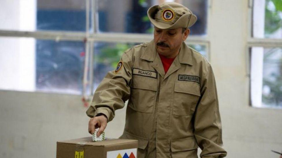 Elección en Venezuela
