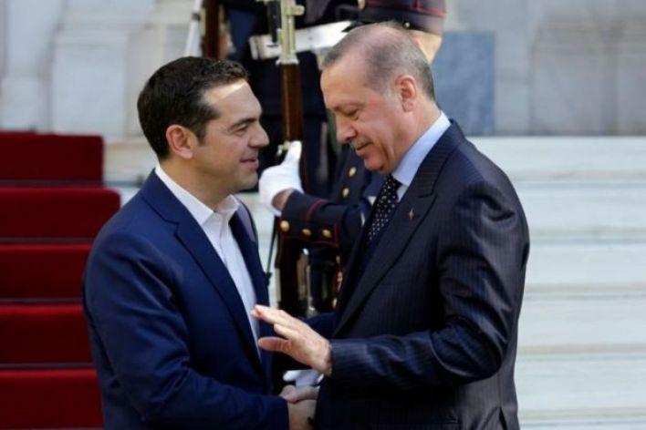 أردوغان وتسيبراس