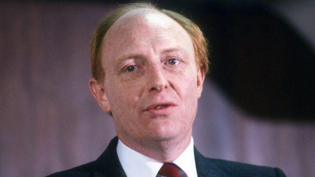 Neil Kinnock in 1985