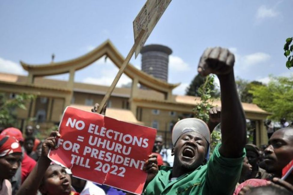 Kenyatta's Supporter