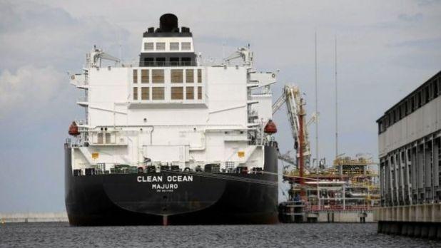The LNG tanker