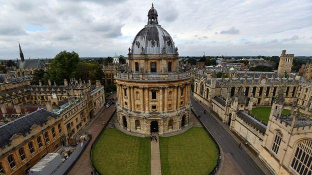 Oxford Üniversitesi, Times Higher Education (THE) 2017 sıralamasında birinci oldu.