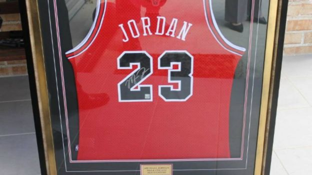 Michael Jordan basketball shirt