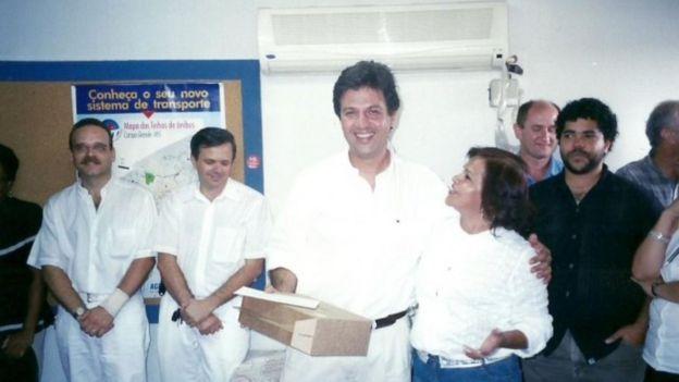 O futuro ministro em 1999