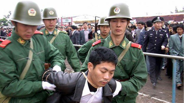 Detención China.