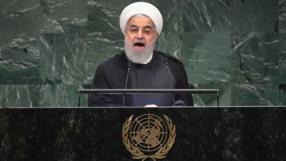 El presidente de Irán, Hassan Rohani
