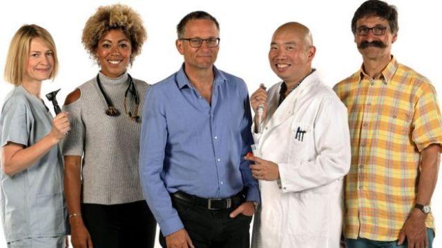 Equipe do programa da BBC 'Trust Me I'm a Doctor'