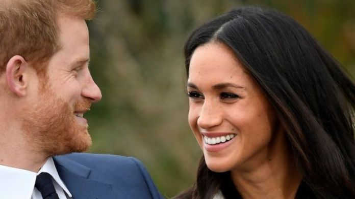 Megan Markle y el príncipe Harry.