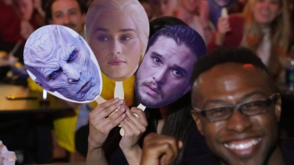 Game of Thrones party at the Understudy bar in Brooklyn in New York