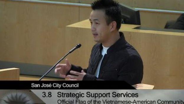 Cuộc họp của Hội đồng TP San Jose ra nghị quyết cấm cờ đỏ