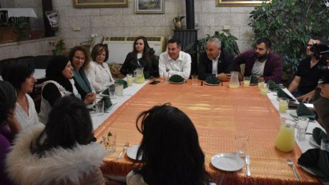 Reunión en Abu Ghosh