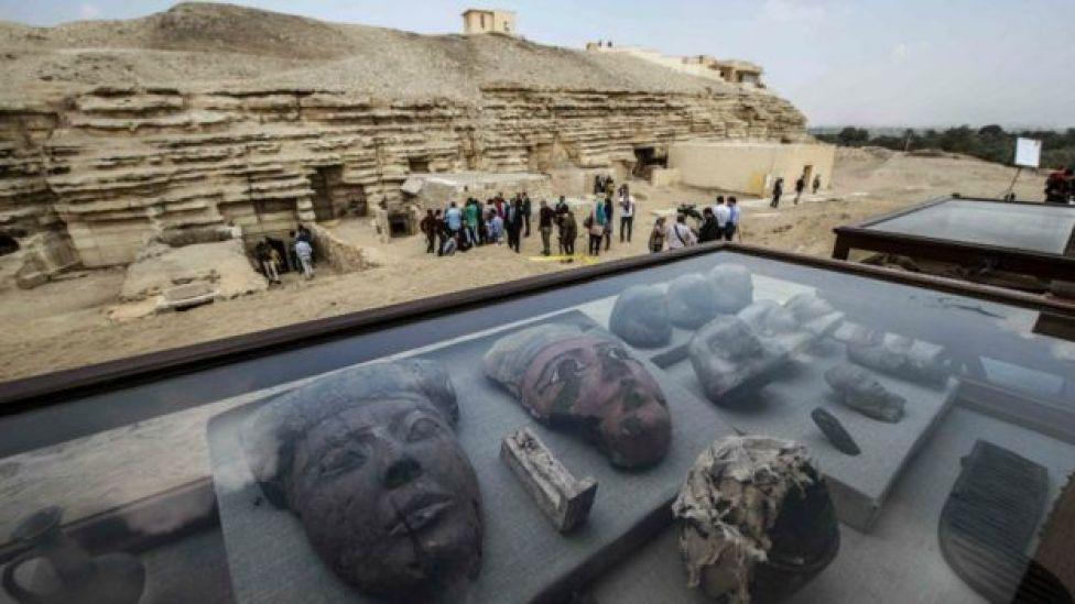 Tumbas egipcias.