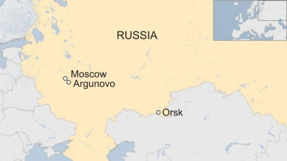 Radaarka diyaarada kadib marki ay ka ambabaxday Moscow