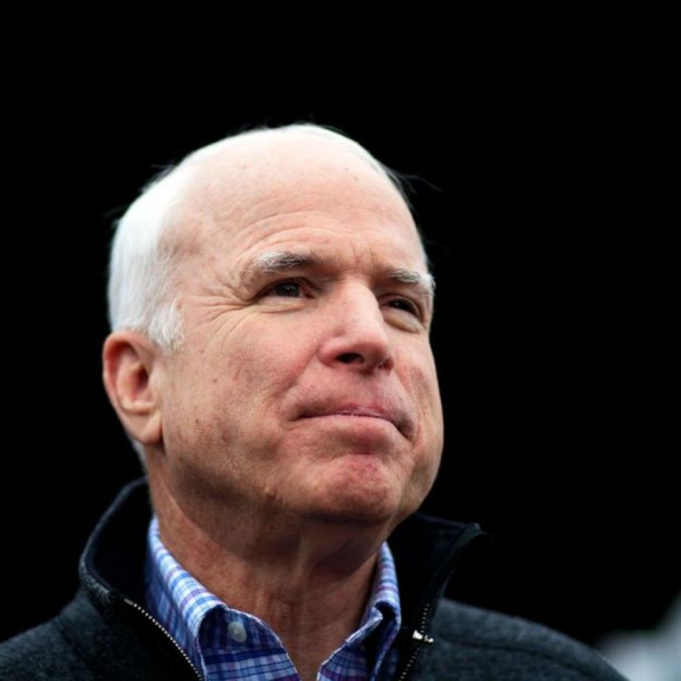 John McCain wuxuu Mareykanka u ahaa halyeey dhinaca dagaalka ah
