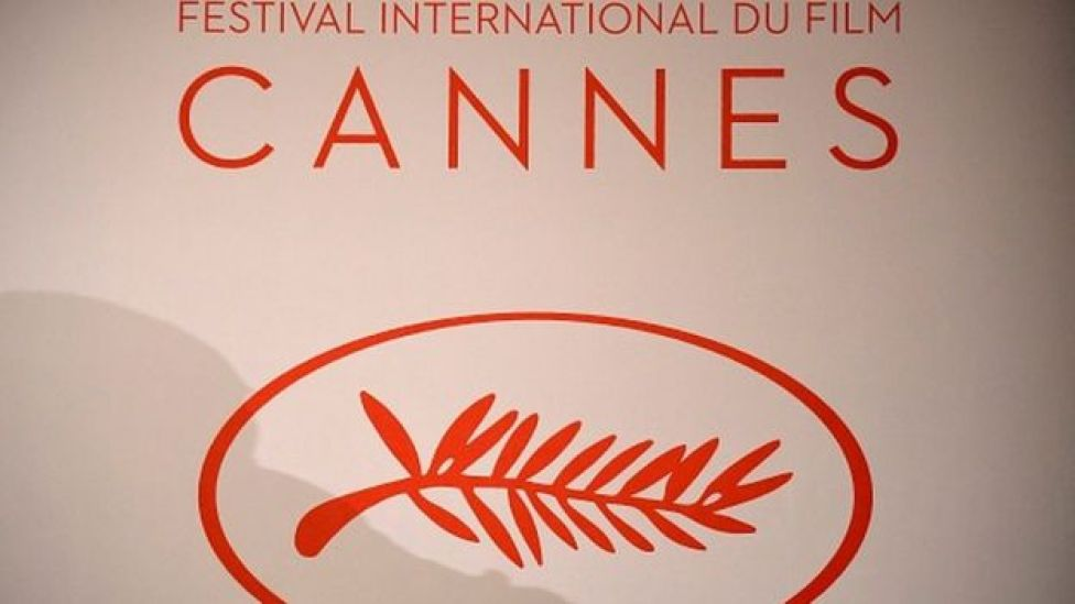 Le logo du festival international de film de Cannes